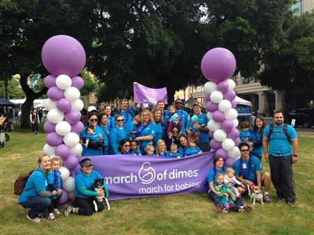 Las Madres March for Babies Team 2015
