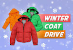 Coat Drive Graphic