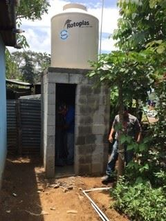Guatemala Water Tank Project
