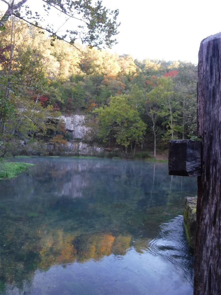 An annual favorite is to paddle the Jack's Fork River, MO in the fall!