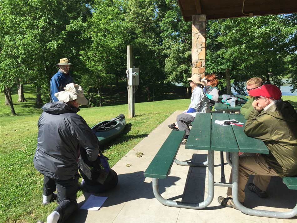 BCCC hosted a beginner's trip to the Spring River in AR so a small group could practice skills