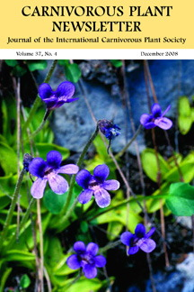 Carnivorous Plant Newsletter - printed back issues