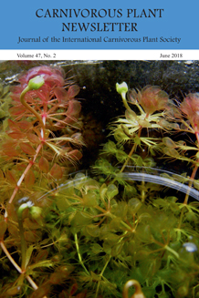Carnivorous Plant Newsletter - current issues