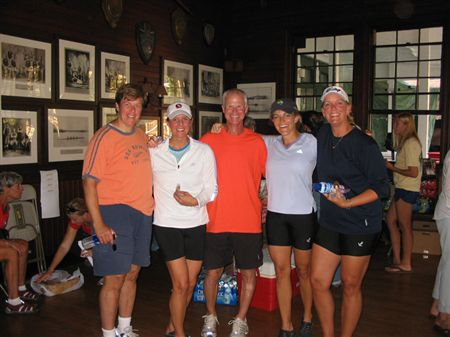 Sept 28, 2008 - We had a lot of participants at the Head of the Potomac this year!  Terry Smith took first place in his single with a time of 18:15.1 and also raced with Maegen Nix in the double.