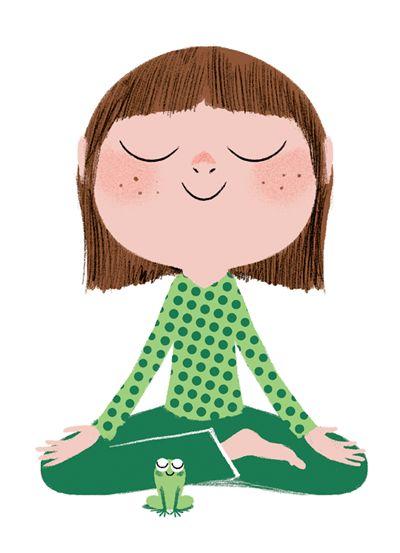 Resultado de imaxes para mindfulness image kids