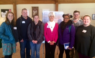 Carolyn Rodis with Participating Shepherd Students