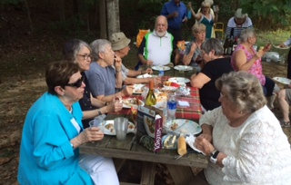 SAIL Members Enjoying Picnic at Wolf Trap