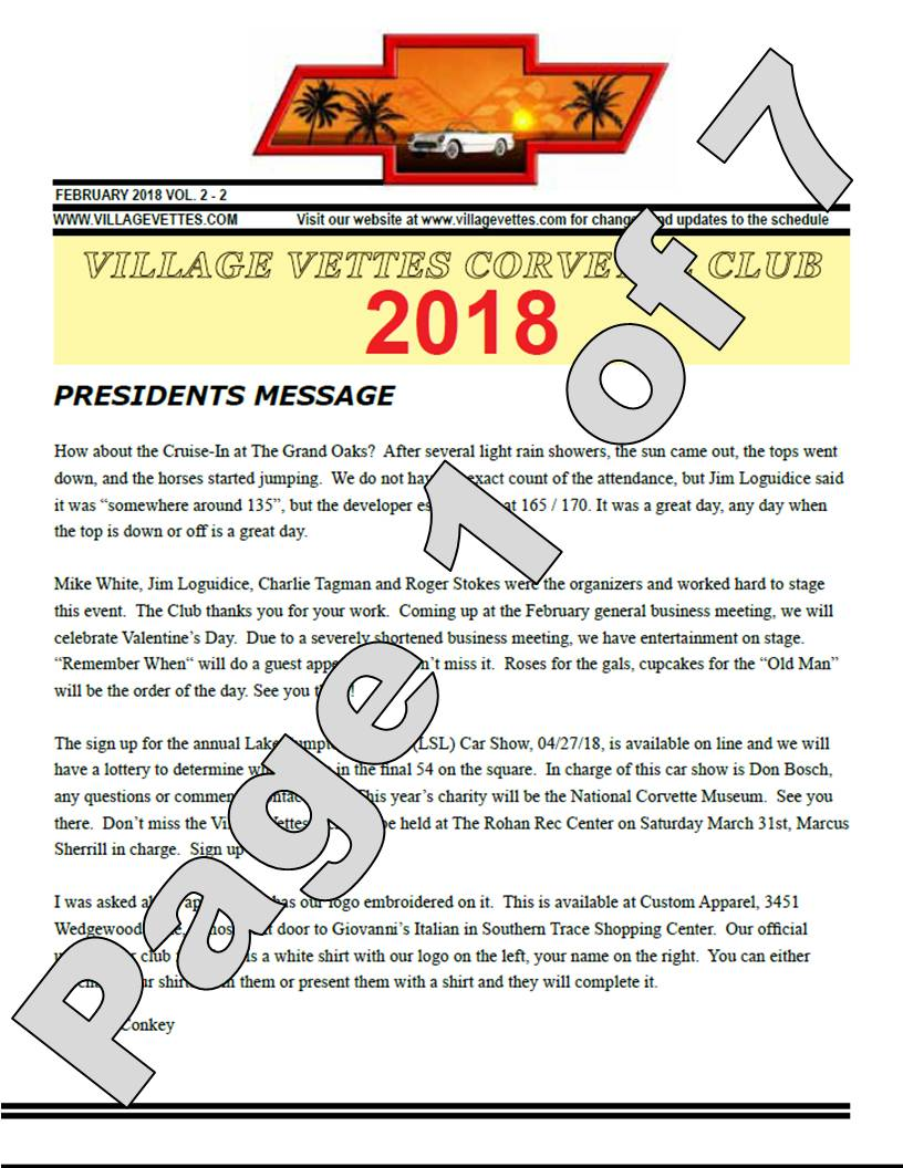 Feb-18 Newsletter Graphic