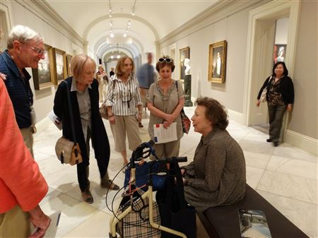A docent-led tour to commemorate the 100th anniversary of Kennedy's birth.
