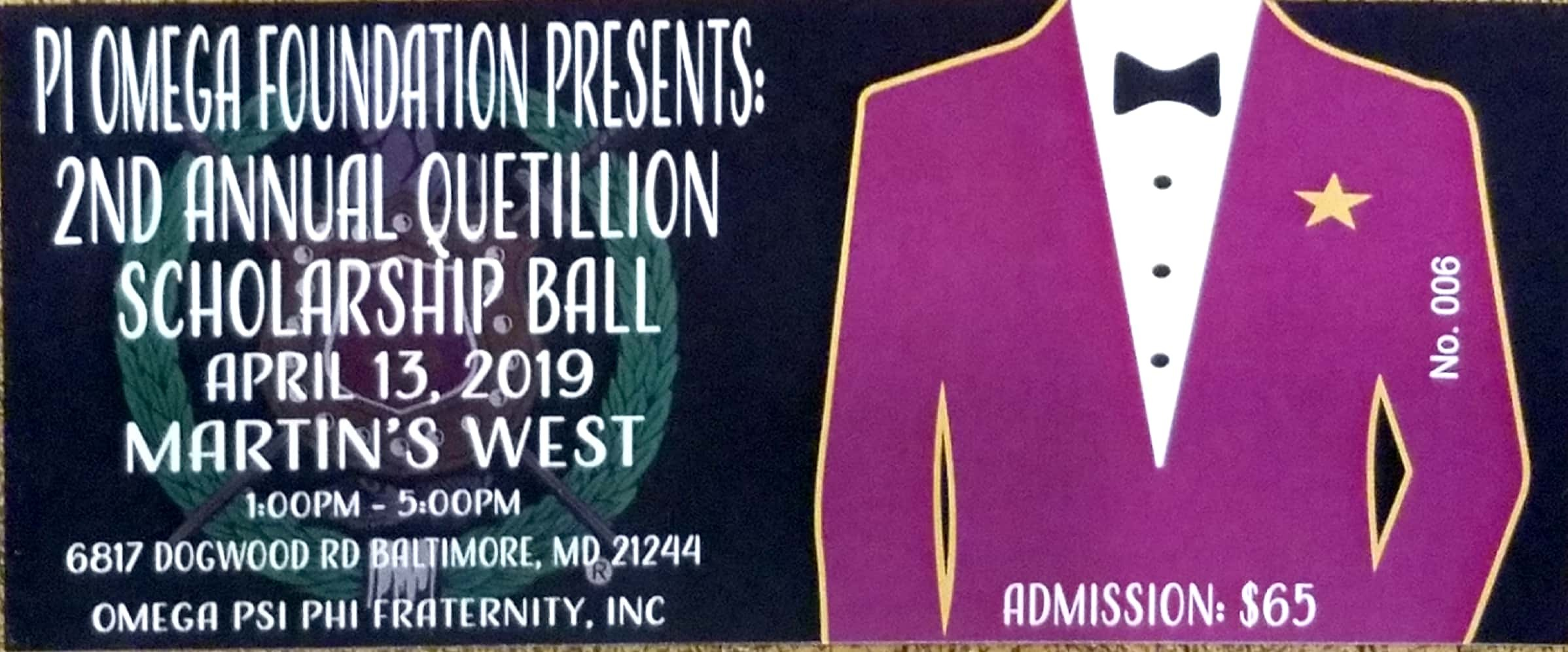2nd Annual Quetillion Ball
