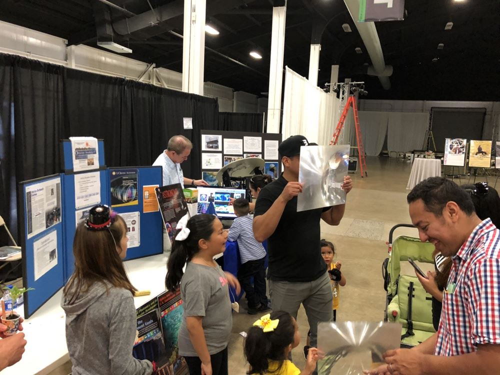 2018 Vital Link OC STEM and the Arts Fair at the OC Fair Grounds. April 13th through April 15th 2018.