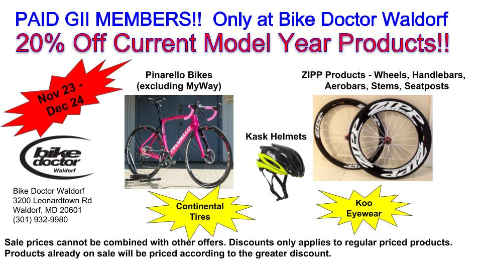 Bike Doctor Discounts