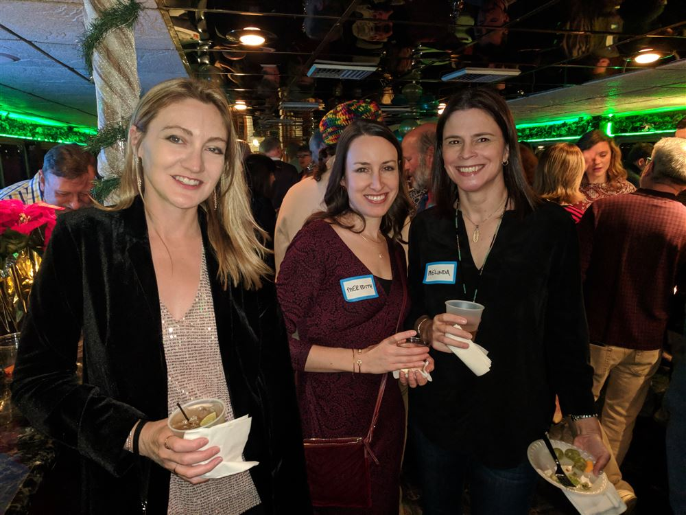 Liberty Sailors take over the Ben Franklin Yacht for our annual Christmas Party in December 2017