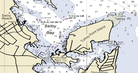 Selby Bay Chart