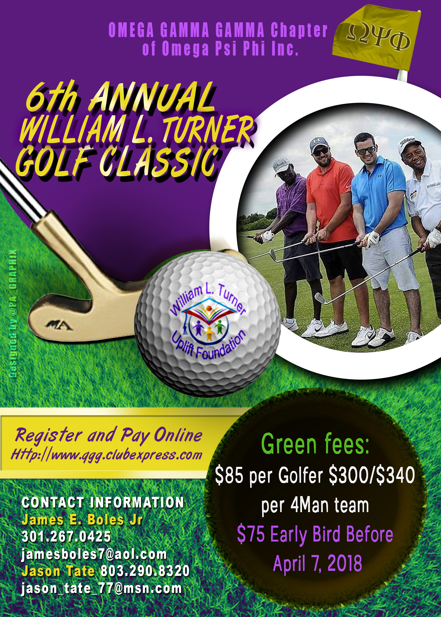 6TH ANNUAL WLT GOLF CLASSIC FLYER
