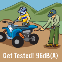 Get Tested! 96dB(A)