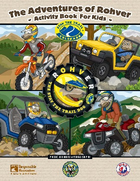 Bulk Stay The Trail Kids Activity Book