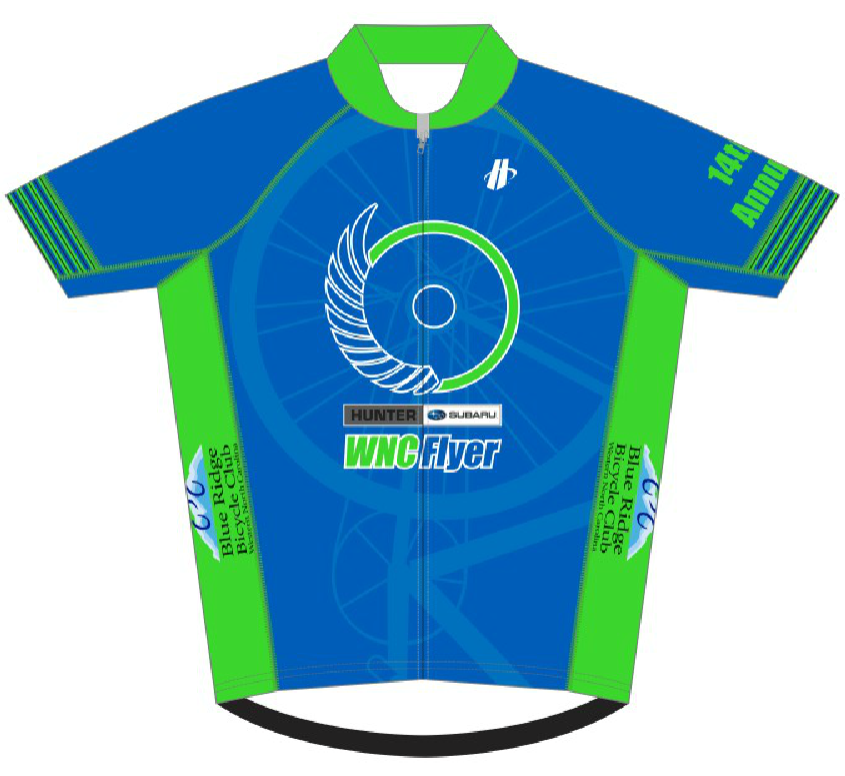 WNC Flyer Jersey Front