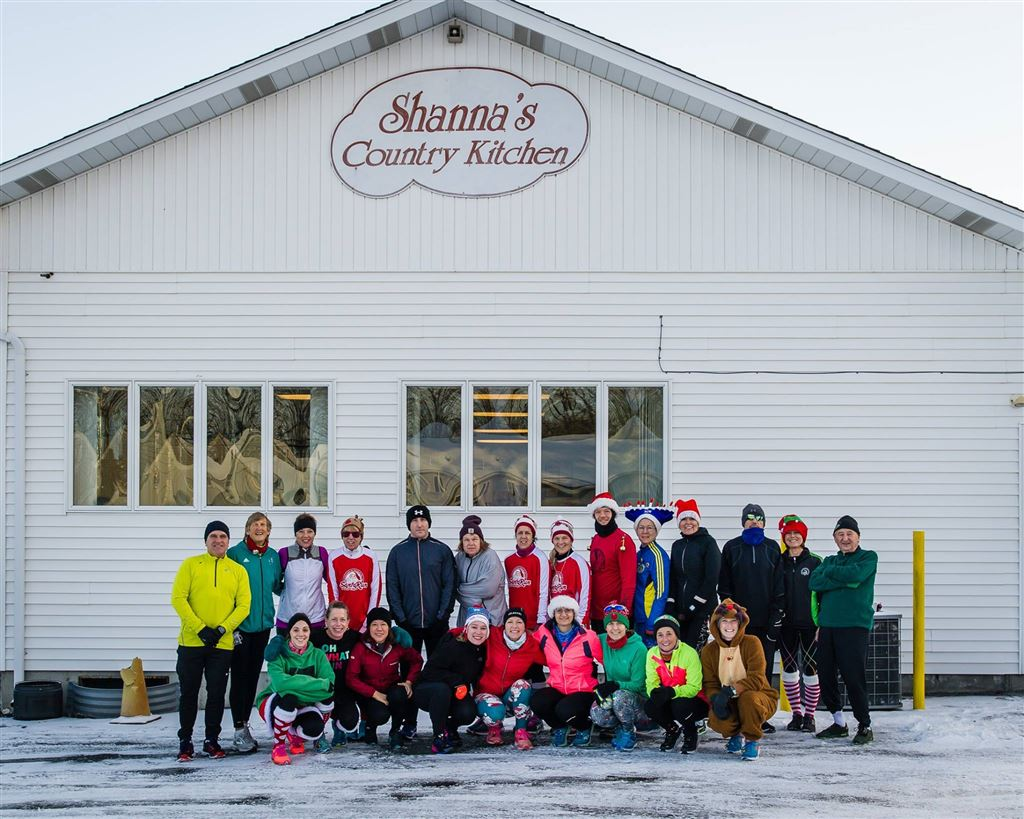 2017 Jingle Bell Run - Shanna's Country Kitchen - December 16th 2017