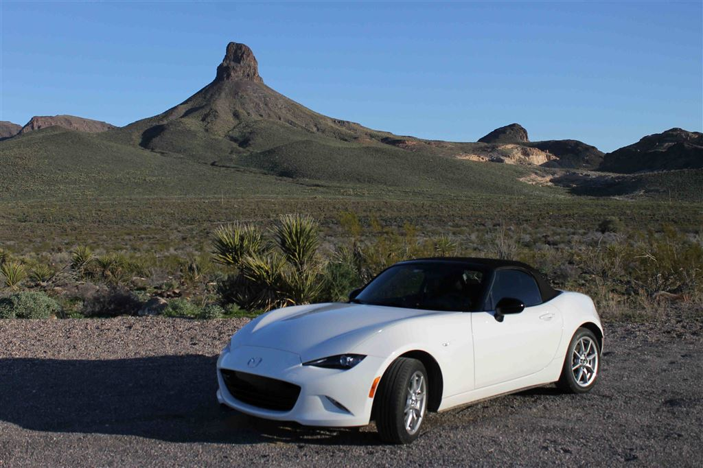 2016 MX-5 out and about.