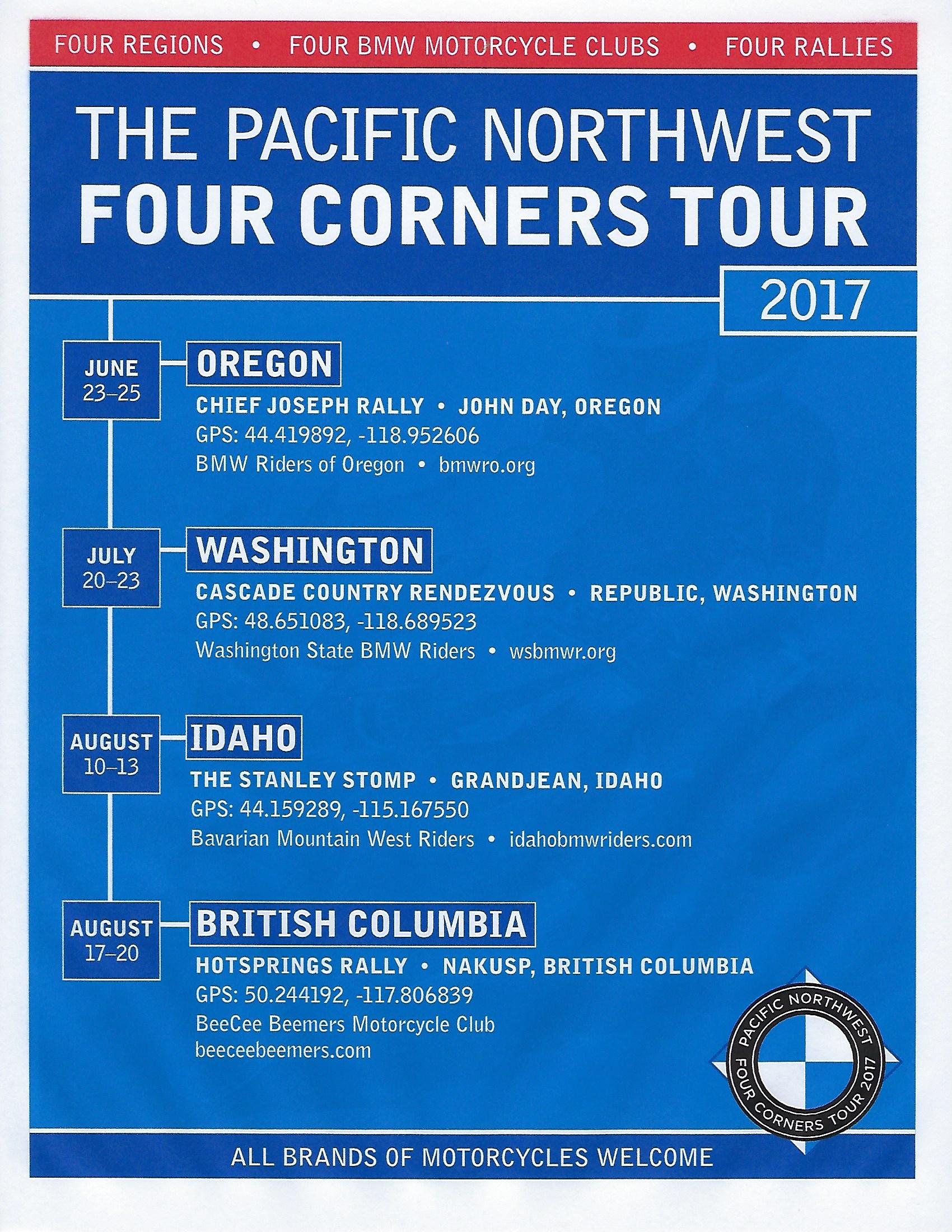 Four Corners Northwest Tour