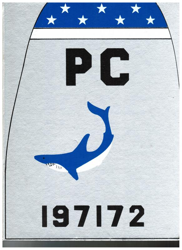 1971-1972 VP-6 Cruise Book Cubi Point Pi