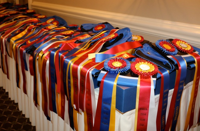 MMHA 2015 Awards Banquet Ribbon Table