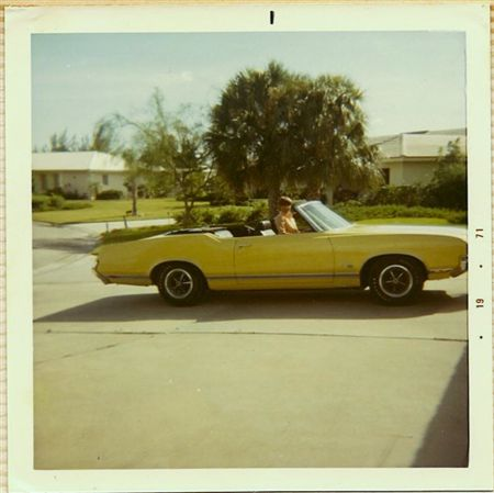 This car has been through some color changes. It was originally Sebring Yellow when I drove it when it was new.  After I had it for a few years it became our family's spare car.  My father thought it