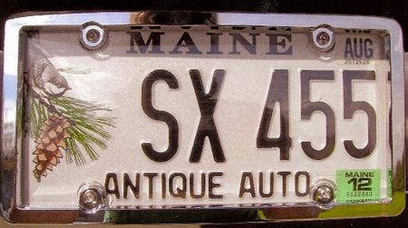 The Cutlass SX club is asking members to get an SX455 license plate the next time you register your car.   We are hoping to get an SX455 PLATE FOR EVERY STATE....AND COUNTRY! If you currently have an