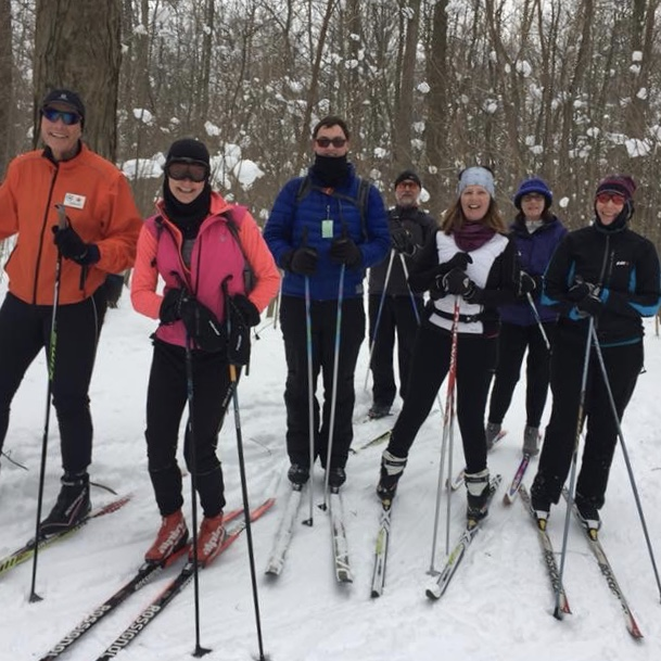 A few of our January 7th skiers