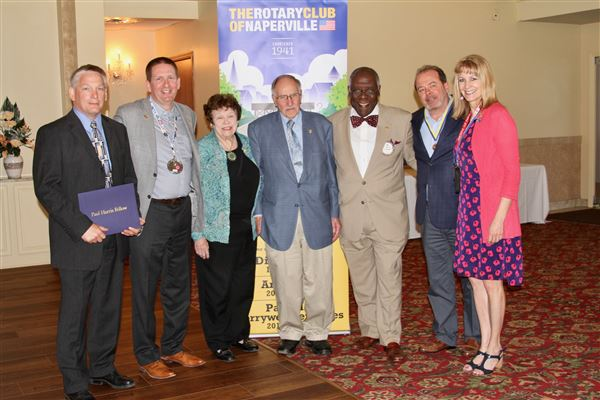 Non Rotarians who were awarded Paul Harris