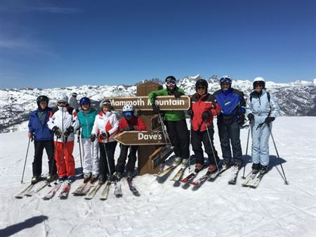 The Gang's April 2016 Trip to Mammoth