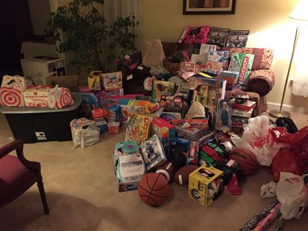 Photos from the APHC Angel Tree Drive