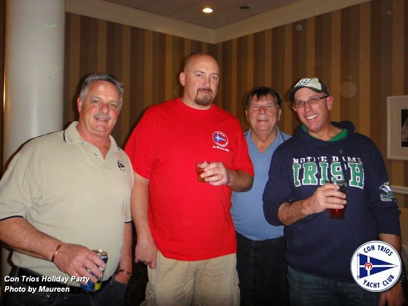 Fleet Captain Bill Tullock's final party of the year was a great time.  The festivities began in the Hospitality Room about 3 PM with the