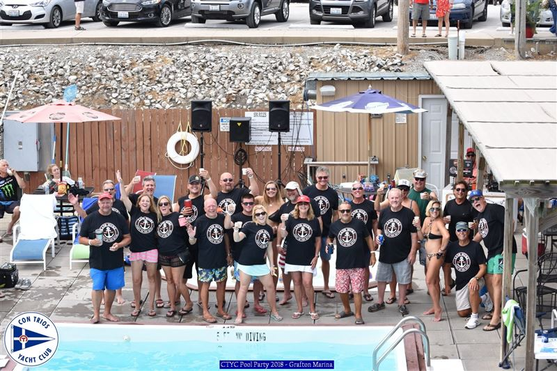 CTYC Pool Party - Grafton Marina July 28th 2018