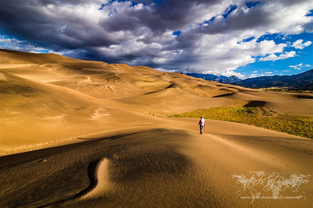 From Great Sand Dunes National Park and Preserve, San Luis Valley, Colorado