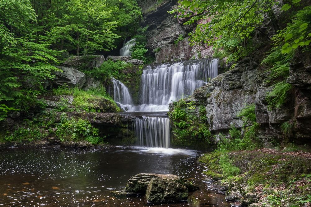 June 17, 2017 visit to Sky Top Lodge and photo shoot at Indian Ladder Falls and vicinity.