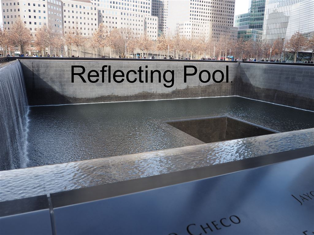 Some quick photos of the World Trade Center and 9-11 Memorial