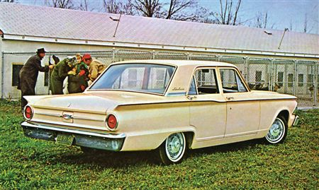 1962 Fairlane (non-500) 4-door Sedan
