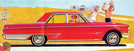 1962 Meteor Custom 4-door Sedan