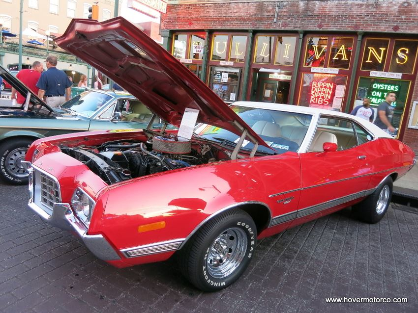 1972 ford gran torino sport 1 of 16 built in this configuration 7 second 1/8 mile