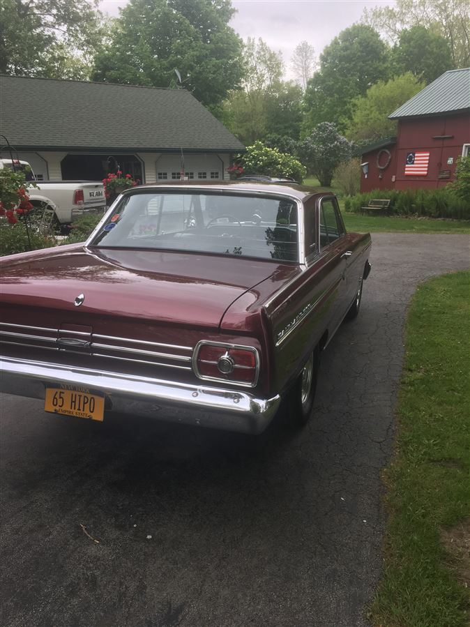 1965 K code with original hipo 289. 40,000 original miles. Straight front axle installed by original owner. Car has been in Western New York since new.