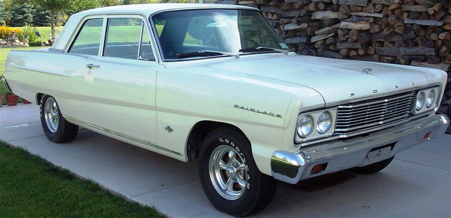 My 65 Ford Fairlane purchased in March 1969 in Victorville, California
