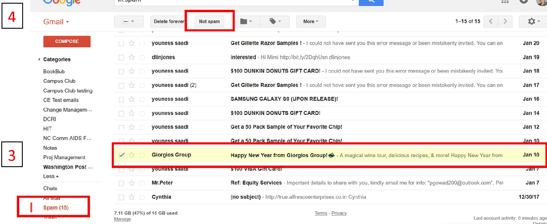 Not spam for Gmail 3