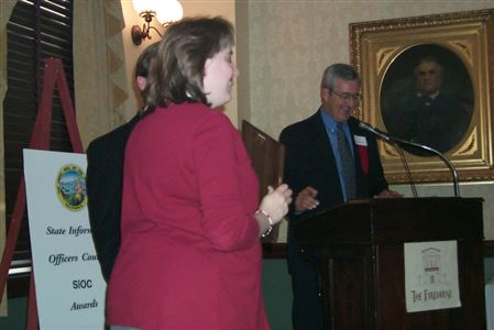 2001 SiOC Awards event