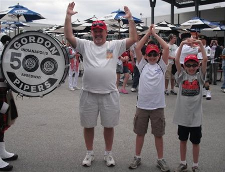 Indianapolis Club Members share their Buckeye Pride in an O  H  I  O way that all Buckeyes love