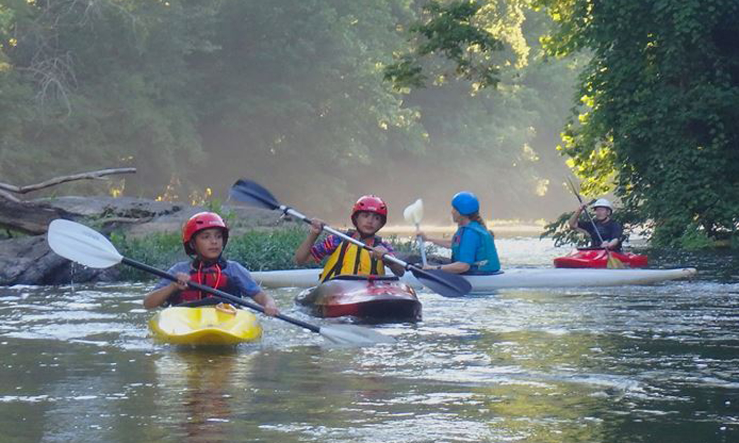 Novice Kayaking Class, Photo by Barbara Brown