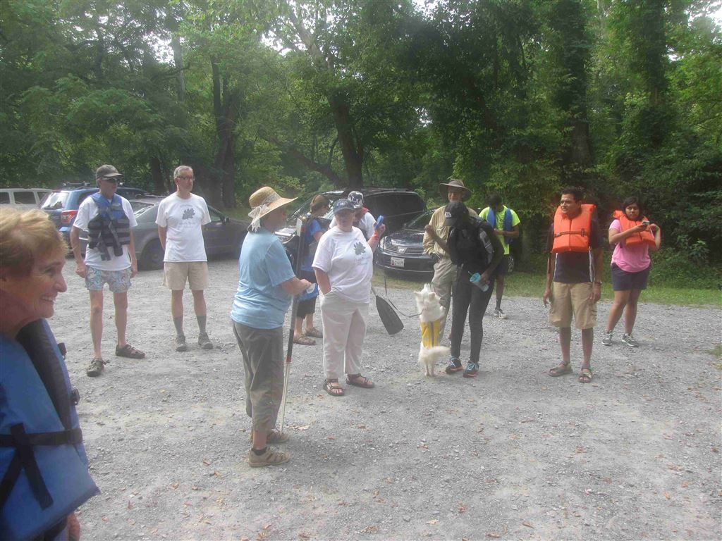 August 2016 Annual Muddy Branch Alliance Canoe Trip