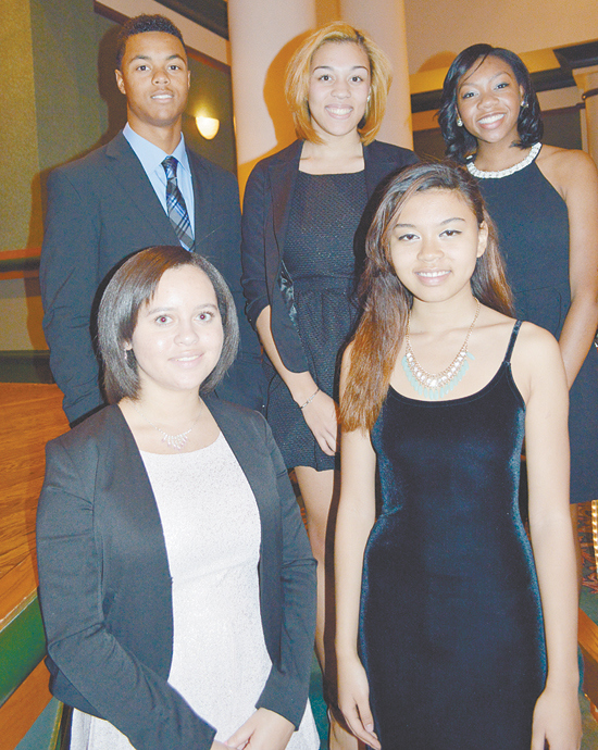 2014 Omega Scholarship Winners