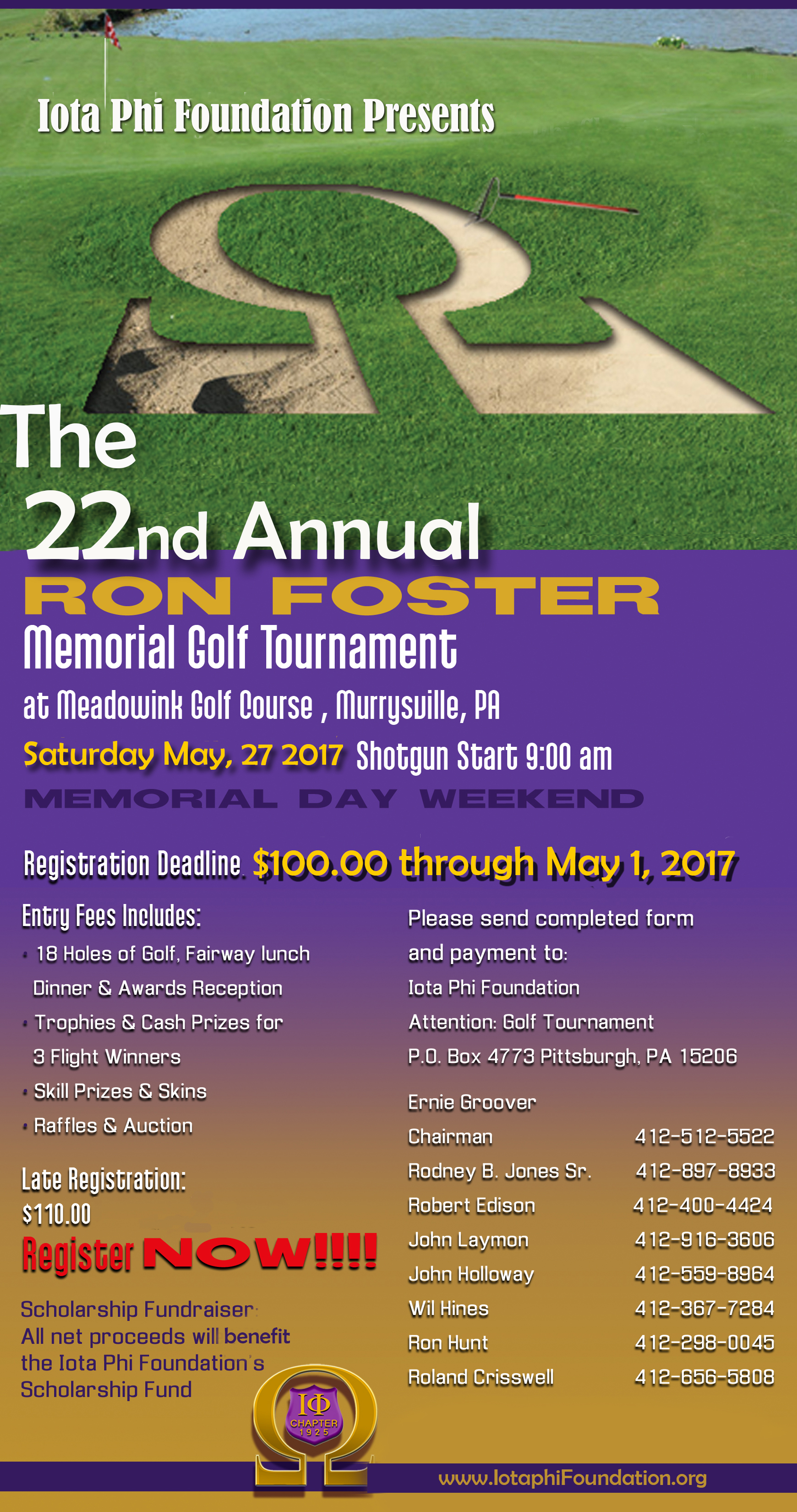 2017 Golf Outing Flyer